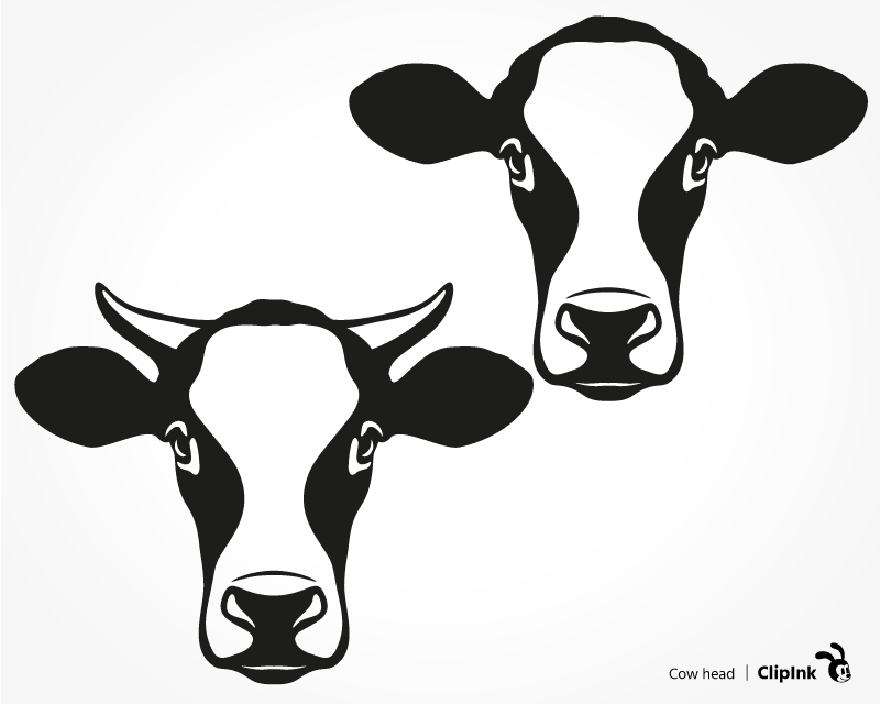 Download Cow head svg, heifer svg, calf svg | svg, png, eps, dxf ...