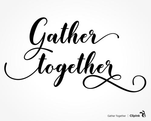 gather together svg
