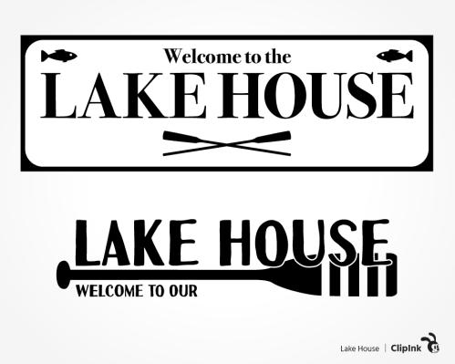 lake house svg