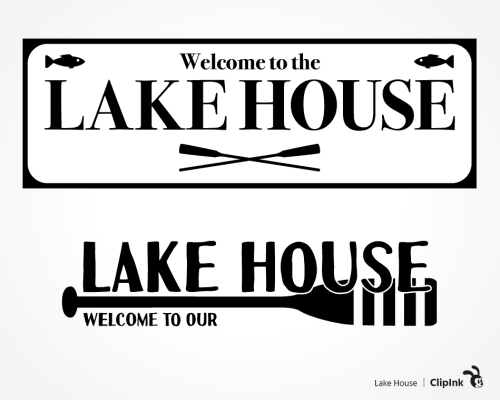 lake house svg