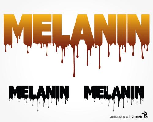 melanin svg