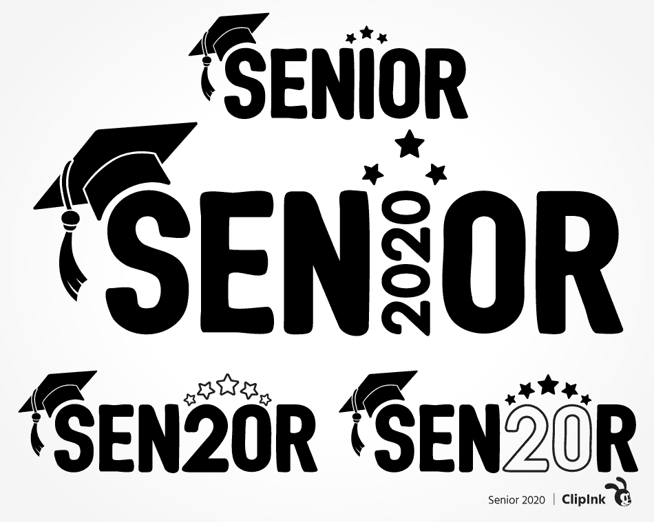 Senior 2020 Svg Graduation Cap Svg Cut File Clipart Png Clipink