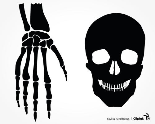 hand bones svg