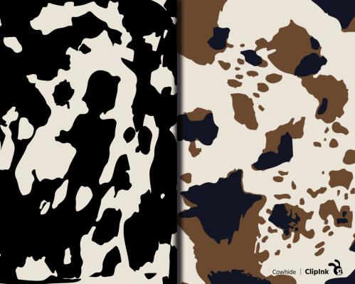 cowhide print