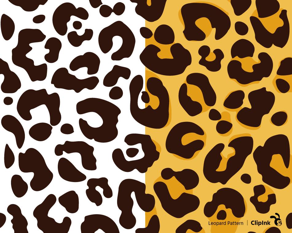 Leopard Print Svg Leopard Spots Pattern Svg Png Eps Dxf Pdf Clipink
