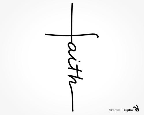 faith word cross