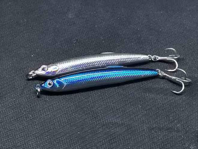 OUTKIT Stick bait 7 centimetri 9 grammi Sinking Pencil Long casting