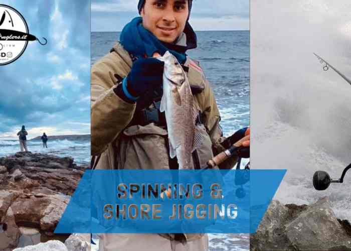spinning & shore jigging in puglia
