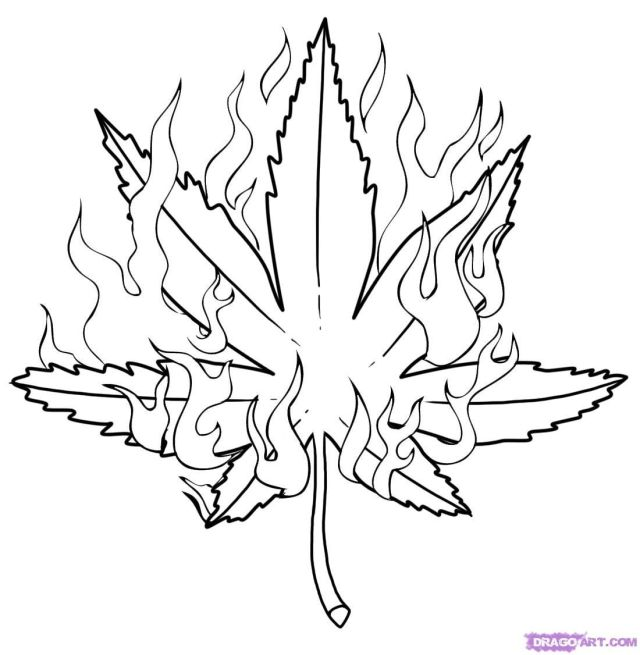 weed coloring pages for adults - Clip Art Library