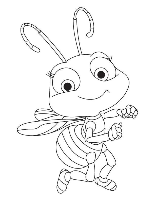 Free Honey Bee Coloring Pages Download Free Clip Art Free Clip Art On Clipart Library