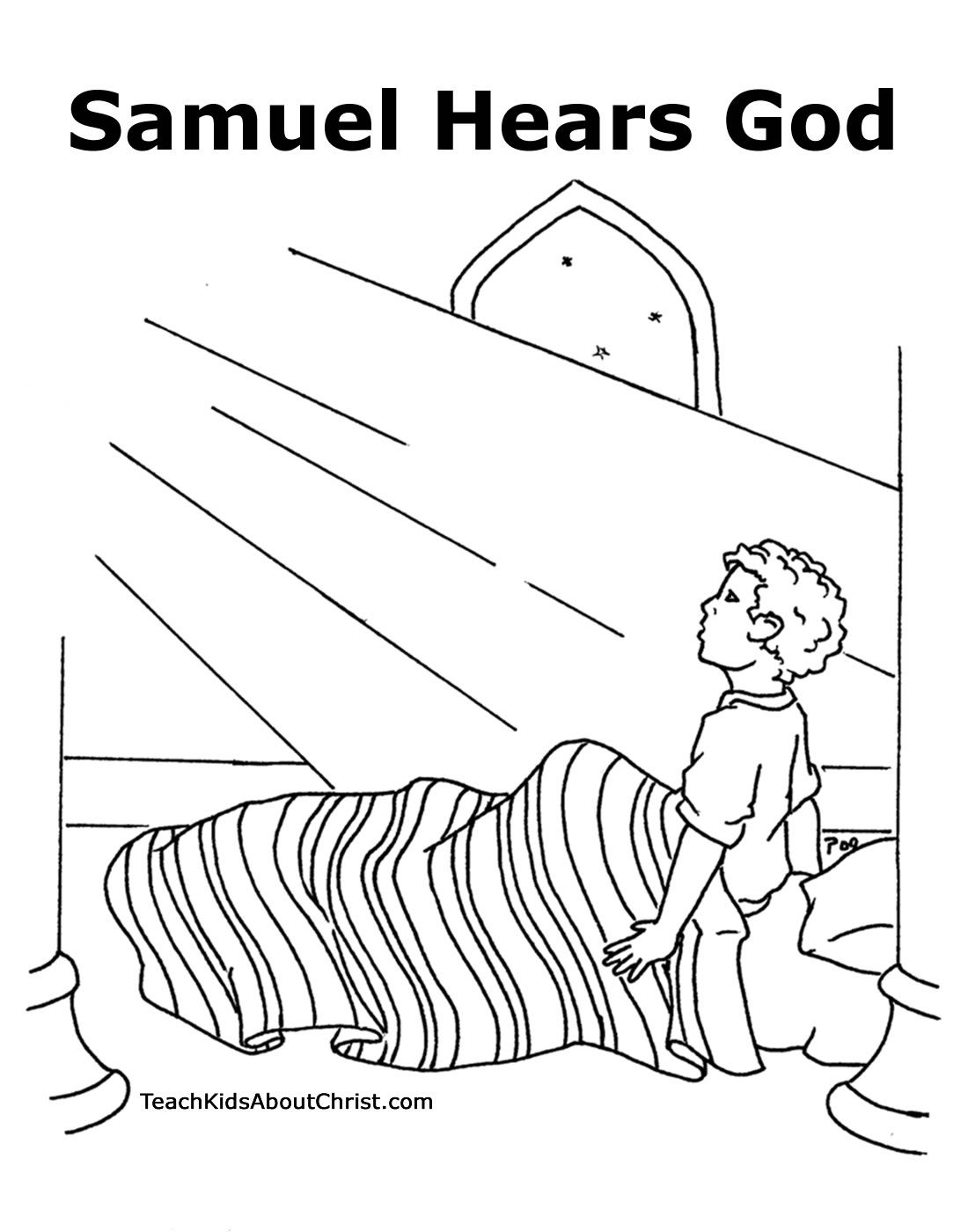Free Baby Samuel Coloring Page Download Free Clip Art