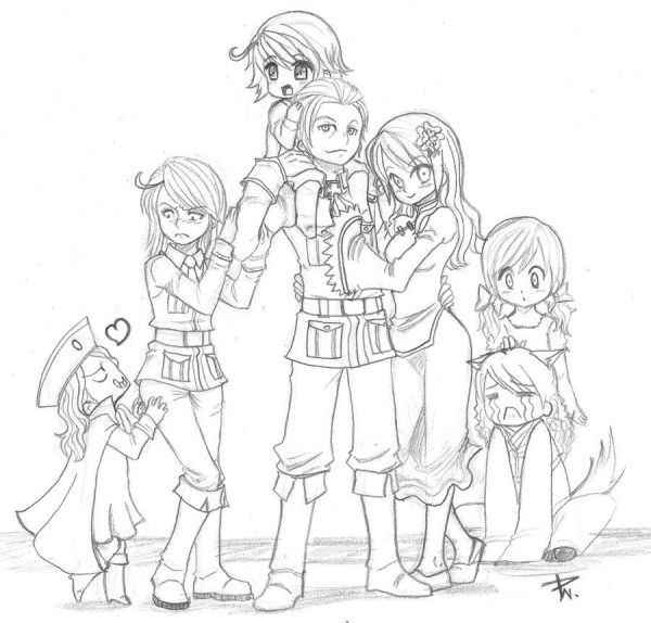 hetalia coloring pages # 2