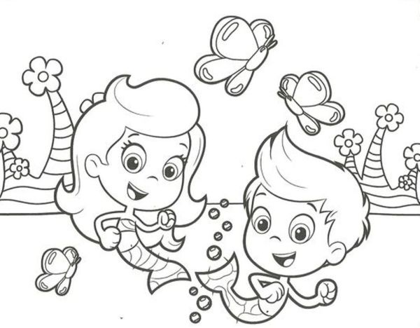 bubble guppies coloring page # 19