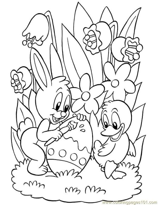 easter coloring pages free # 77