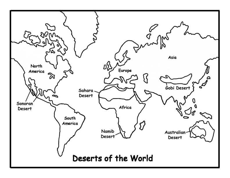 Free World Map Coloring Page For Kids Download Free Clip Art Free Clip Art On Clipart Library