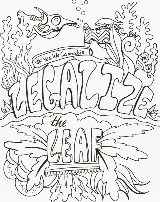 Free Stoner Coloring Pages, Download Free Stoner Coloring Pages