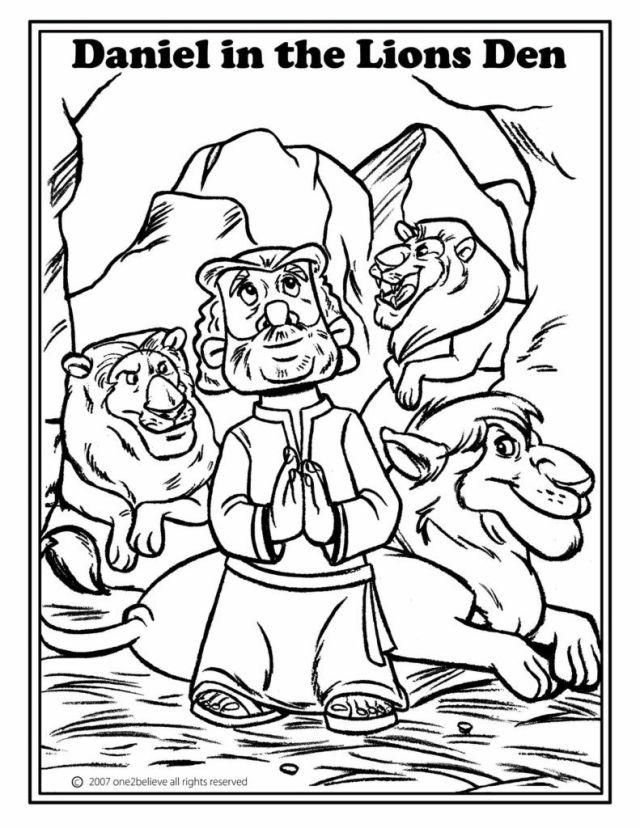 lions den coloring pages - Clip Art Library
