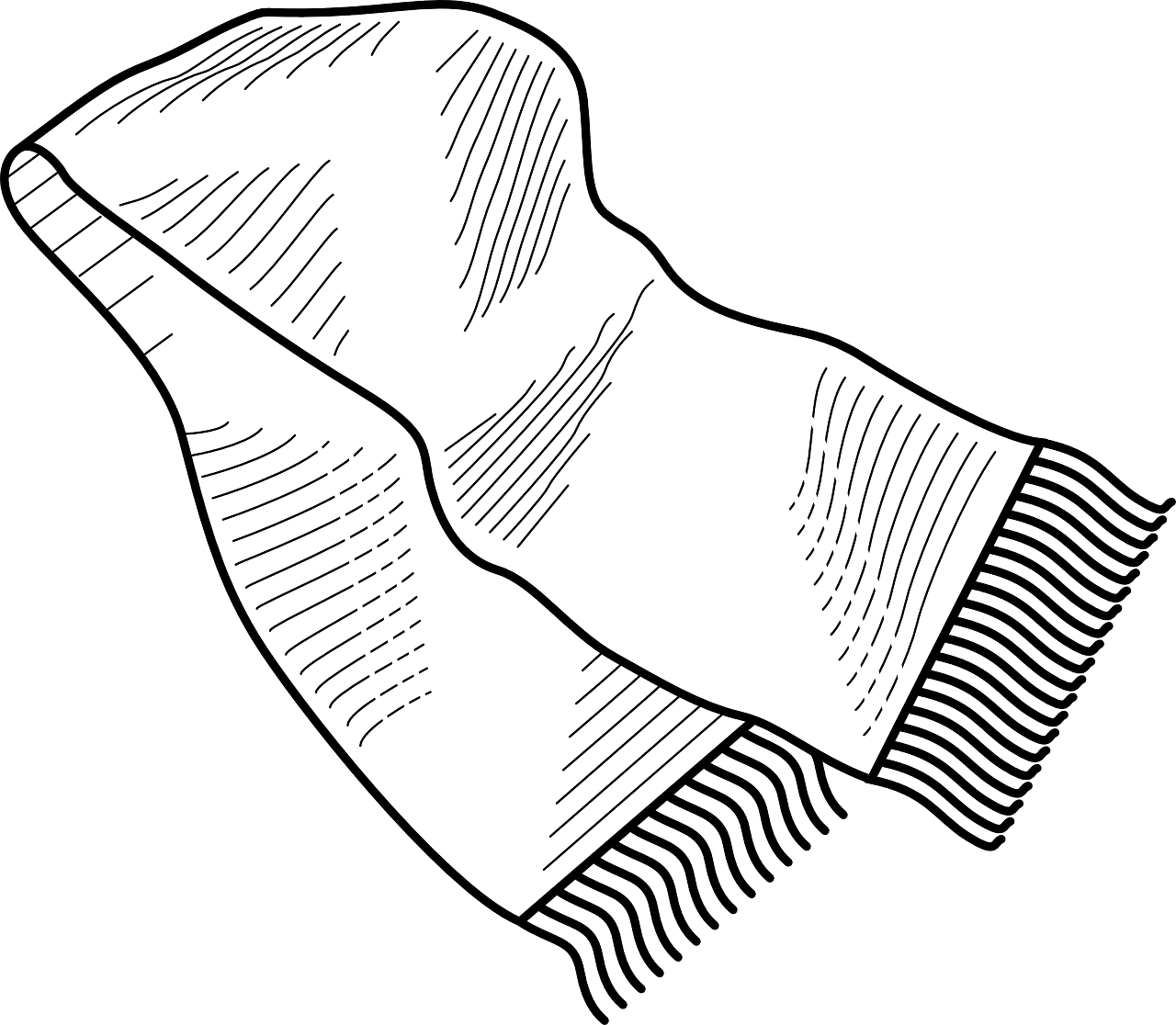 Free Winter Scarf Coloring Pages Download Free Clip Art