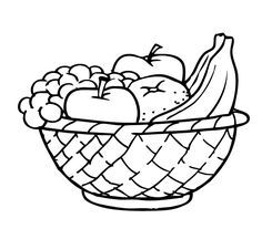 Free Fruit Basket Coloring Pages To Print Download Free Clip Art Free Clip Art On Clipart Library