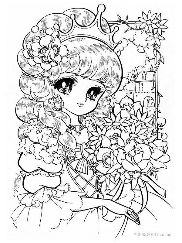 Free Anime Princess Coloring Pages Download Free Clip Art Free Clip Art On Clipart Library