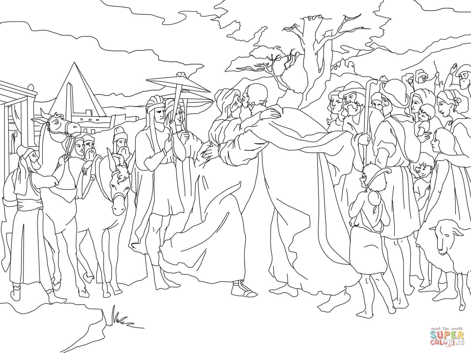 Worksheet Joseph And His Brothers
