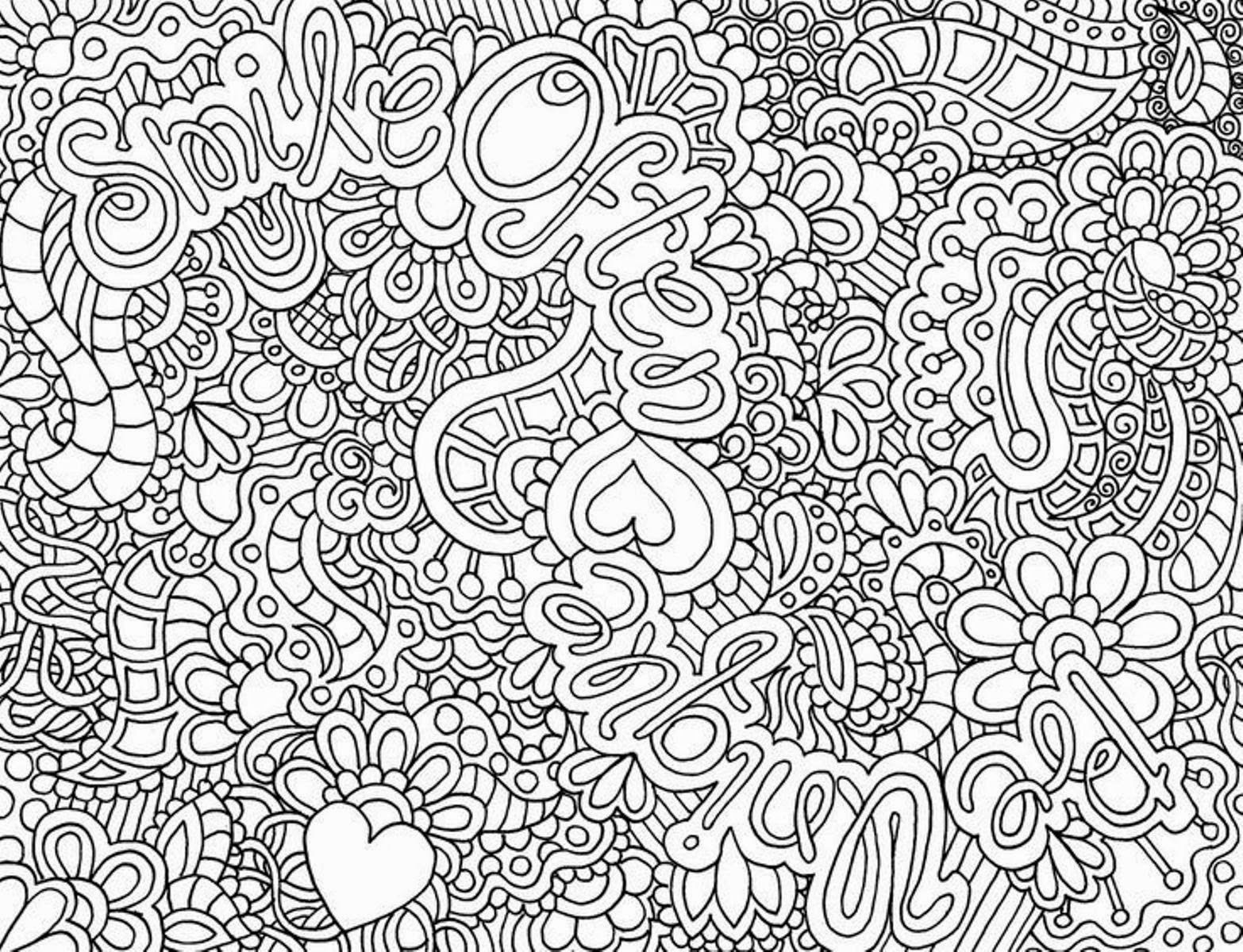 Coloring Pages For Girls Hard Clip Art Library