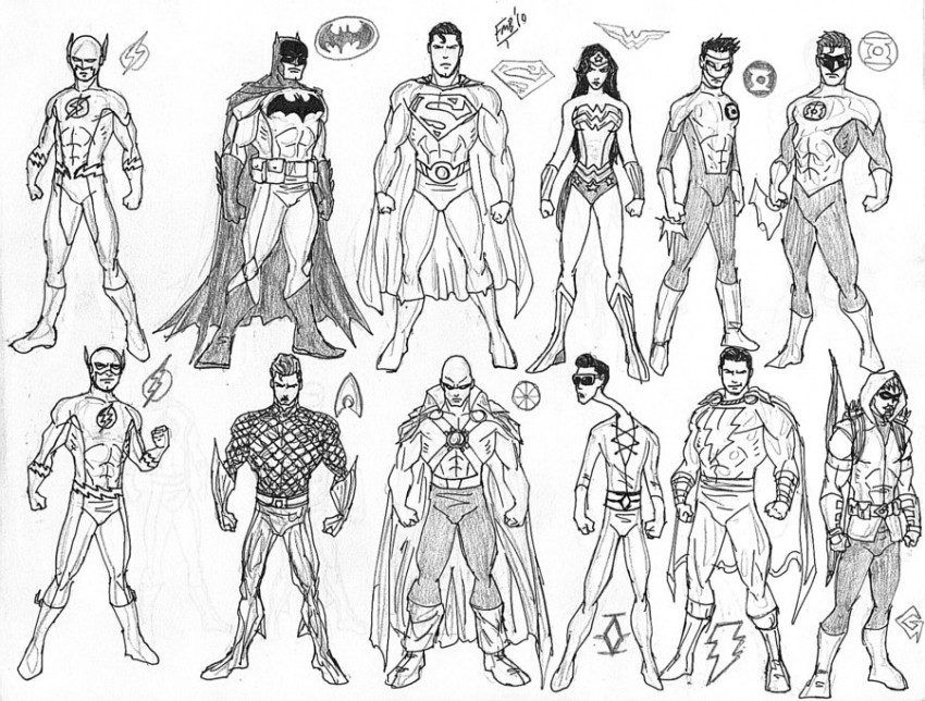 Free Justice League Coloring Pages To Print Download Free Clip Art Free Clip Art On Clipart Library