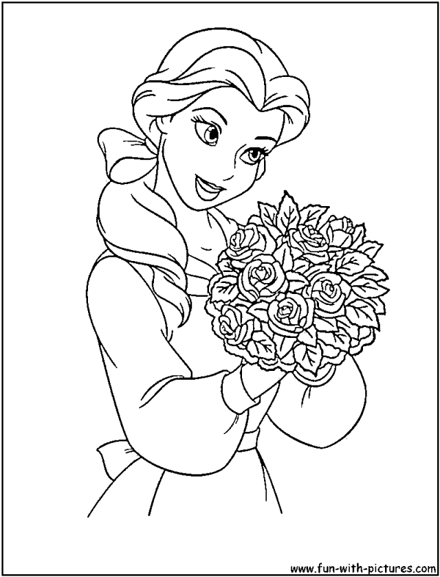 Free Coloring Pages For Disney Princesses, Download Free Coloring