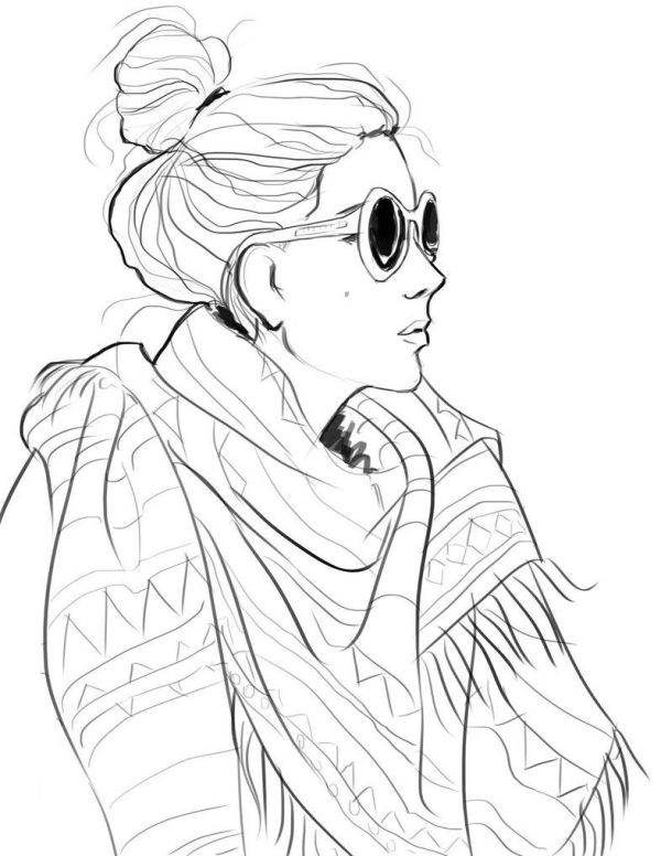 coloring pages fashion # 25