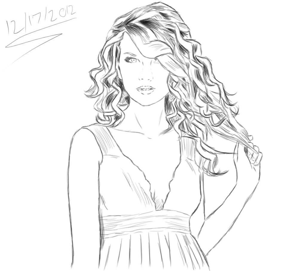 Taylor Coloring Pages Print