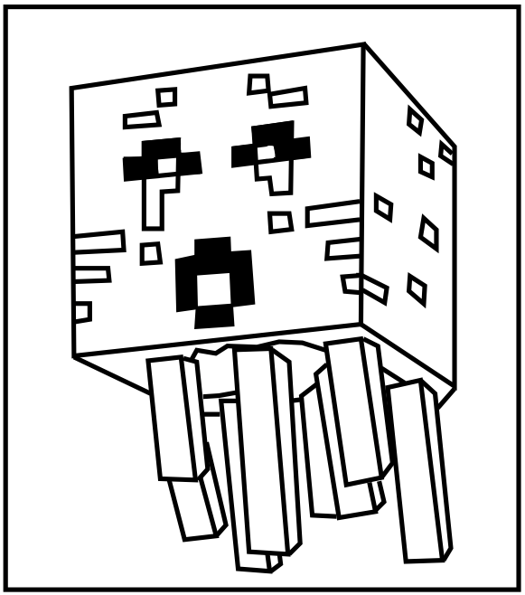 Free Minecraft Skins Coloring Pages Download Free Clip Art Free Clip Art On Clipart Library