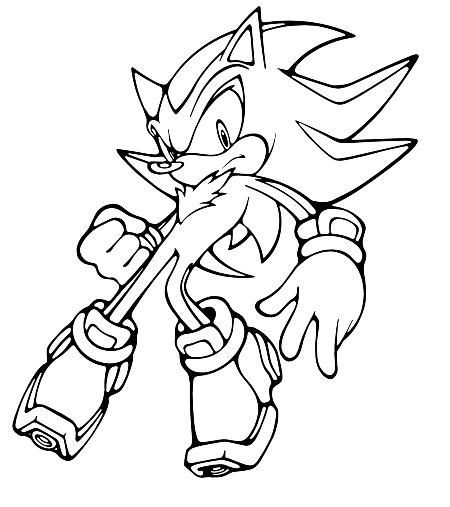Free Sonic Coloring Pages Online For Free Download Free Clip Art Free Clip Art On Clipart Library
