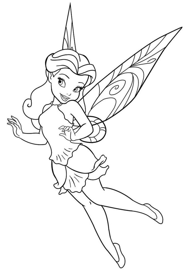 Free Fairy Coloring Pages Free Printable Download Free Clip Art Free Clip Art On Clipart Library