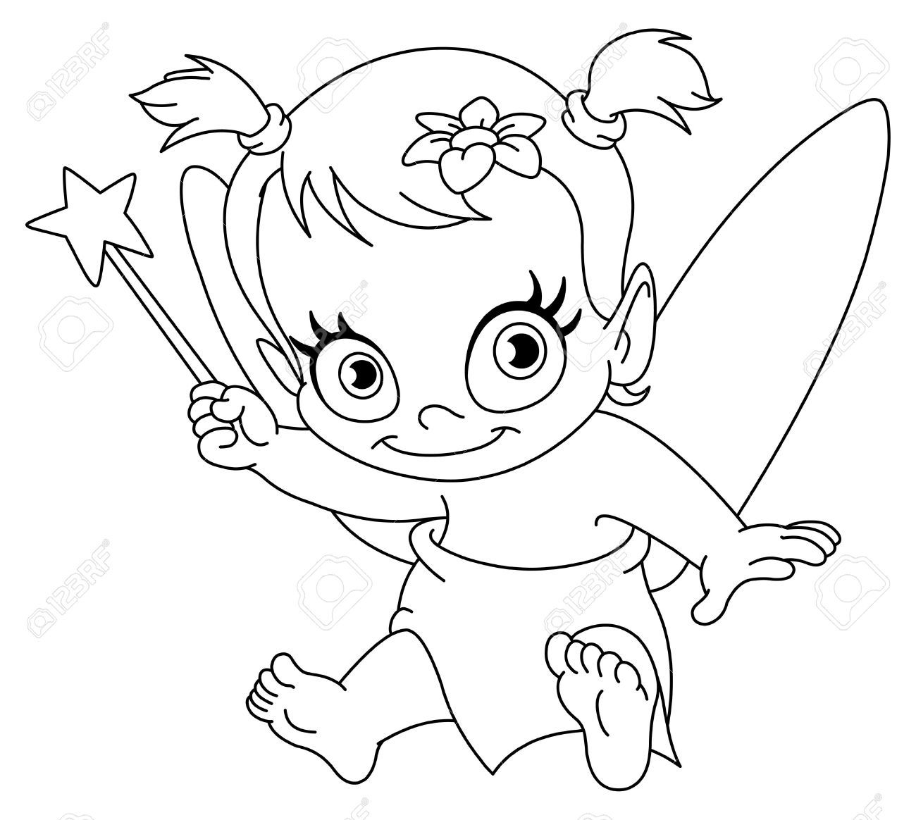 Free Newborn Baby Girl Coloring Pages Download Free Clip