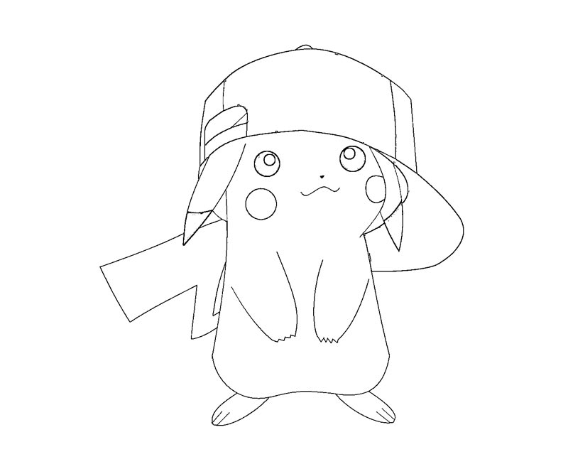 Free Coloring Pages Pikachu Download Free Clip Art Free Clip Art On Clipart Library