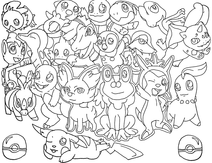 Free Piplup Pokemon Coloring Pages Download Free Clip Art Free Clip Art On Clipart Library