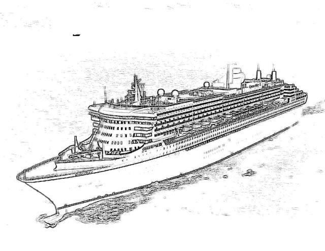 queen mary 17 coloring pages - Clip Art Library