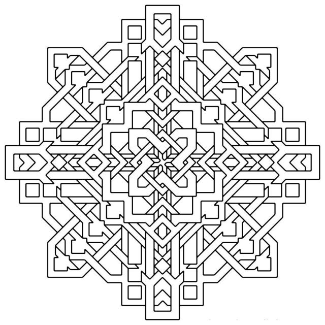 Free Geometric Shape Coloring Pages, Download Free Geometric Shape