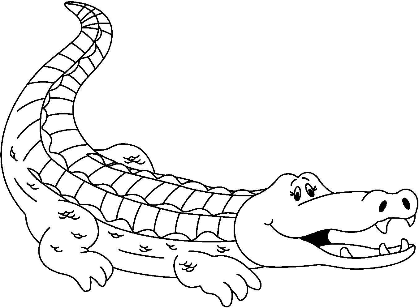 Alligator Cliparts