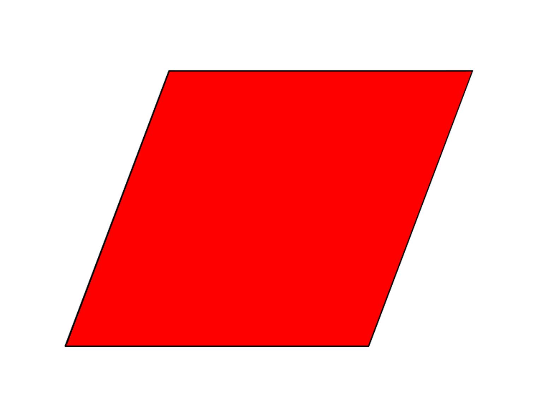 Parallelogram Clip Art
