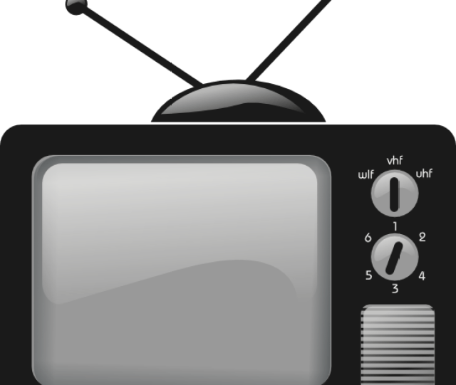 Free To Use Public Domain Television Clip Art