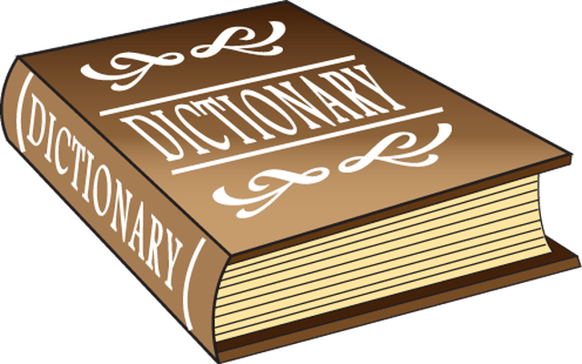 Dictionary cliparts