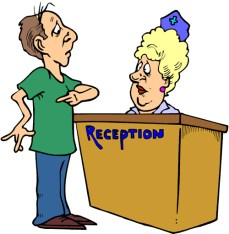 Image result for receptionist free clipart