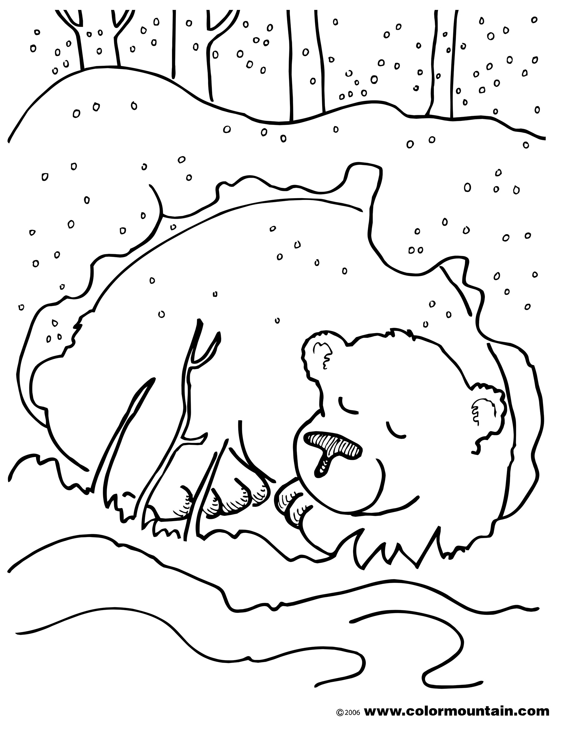 Free Hibernation Cliparts Download Free Clip Art Free
