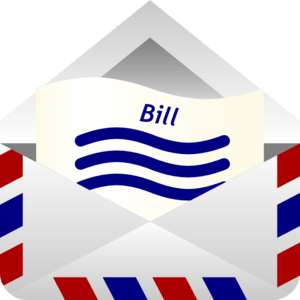 Image result for bill clipart