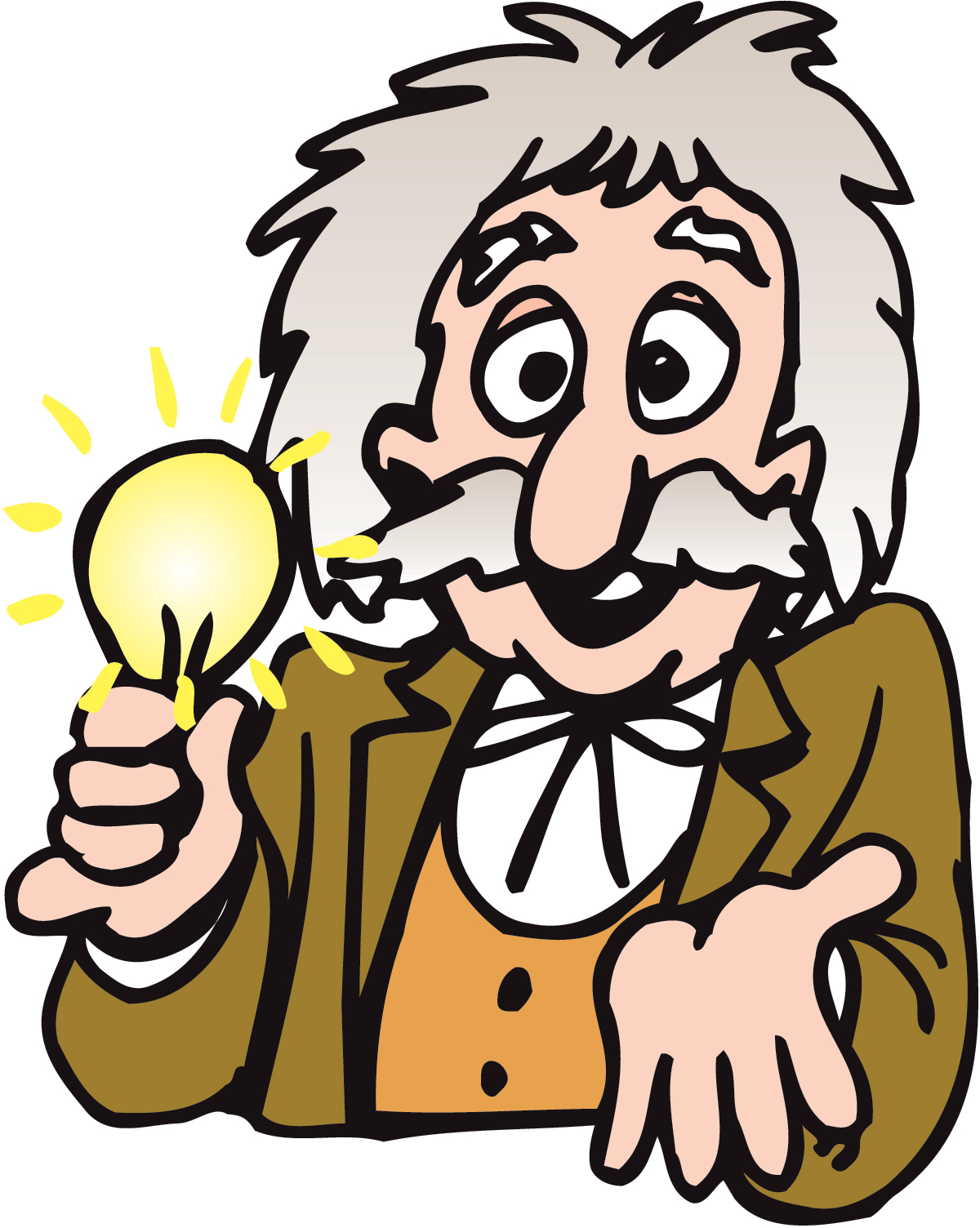 Thomas Edison Light Bulb Clipart