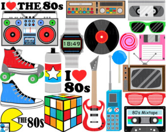 """Download 1980s clipart ??"""" Etsy"""