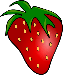 Image result for free clip art of strawberry