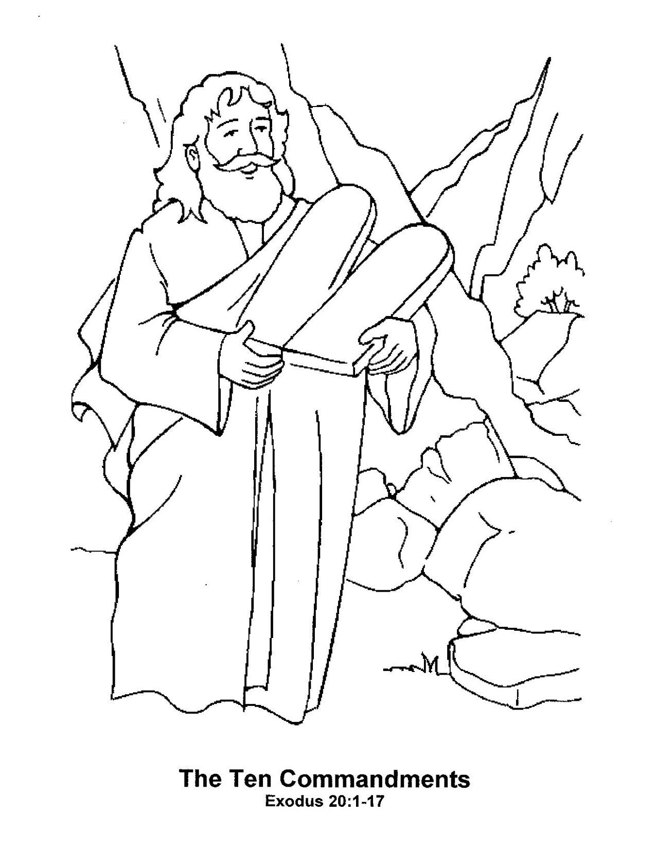 Moses Bible Story Clip Art Cliparts
