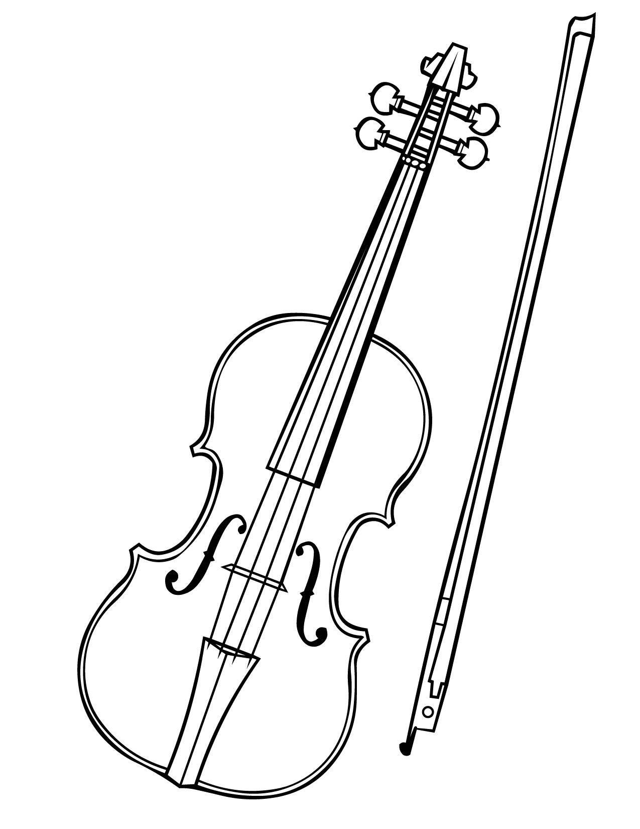 Cello Bow Clipart
